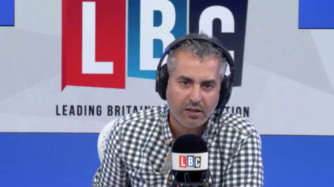 Maajid Nawaz spoke to James O'Brien on Tuesday
