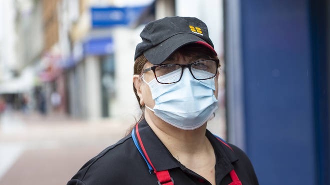 Face coverings will need to be worn in shops