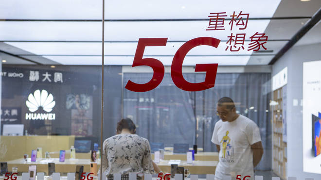 Huawei equipment has been banned from the UK's 5G network