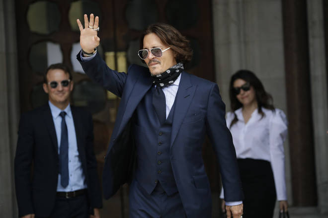 "Johnny Depp is suing News Group Newspapers, publisher of The Sun, and the paper's executive editor, Dan Wootton, over an April 2018 article that called him a ""wife-beater"""