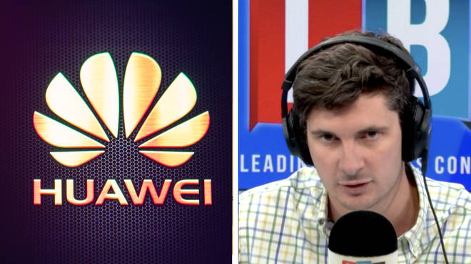 Tom Swarbrick pushed Huawei to answer about involvement with Chinese government