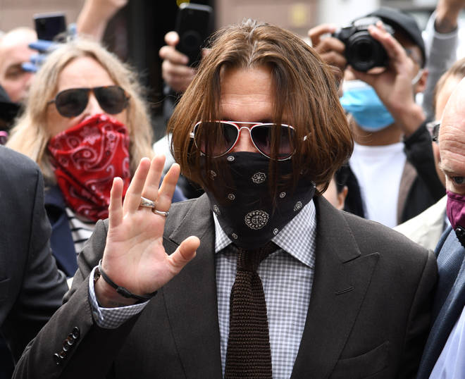 Johnny Depp has now finished giving evidence at the trial