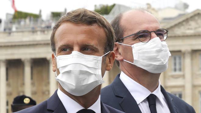 Emmanuel Macron originally said masks would be mandatory from 1 August