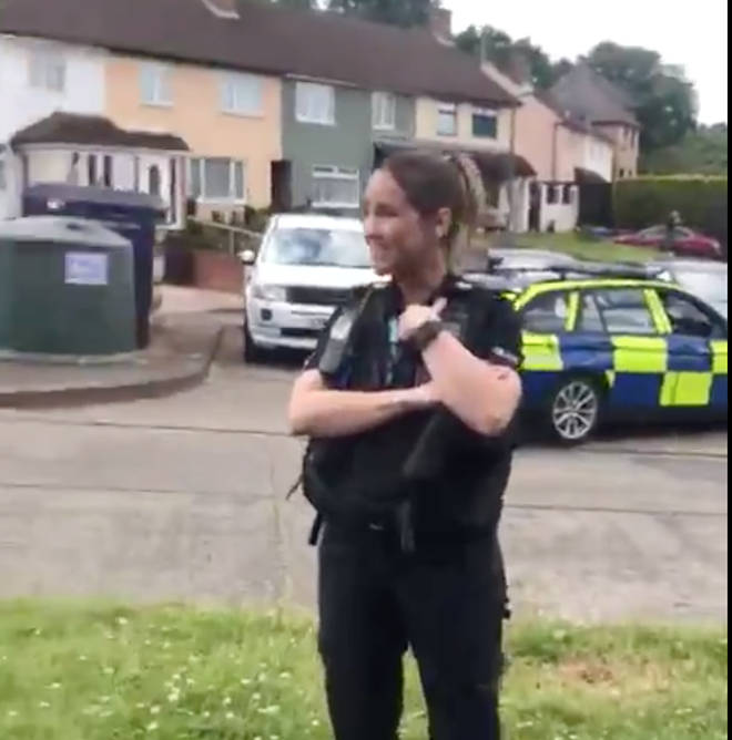 Suffolk Police has since apologised over the incident