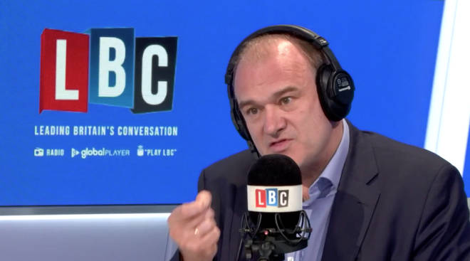 Sir Ed Davey accused the Government of ignoring the recommendations of a 2016 pandemic simulation