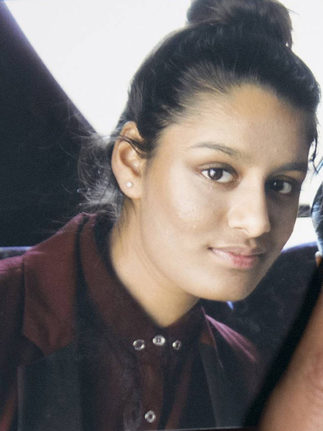 Begum - one of three east London schoolgirls who travelled to Syria to join the so-called Islamic State group (IS)
