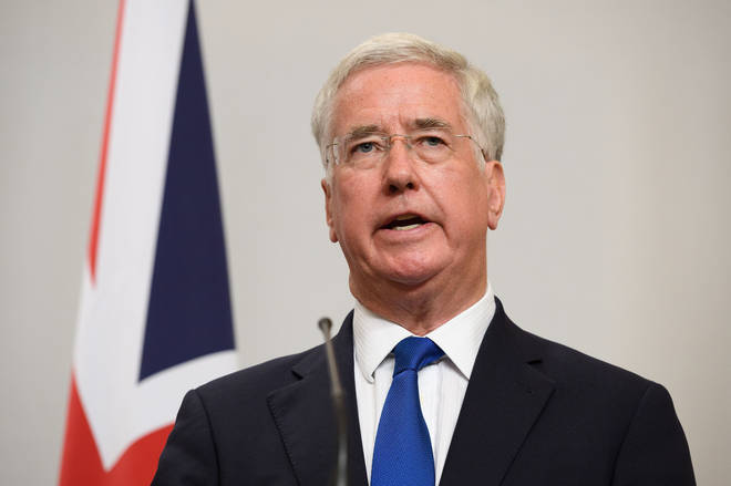 Former Defence Secretary Sir Michael Fallon was speaking to LBC