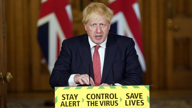 Boris Johnson announced a series of measures aimed at bringing the UK back to normality