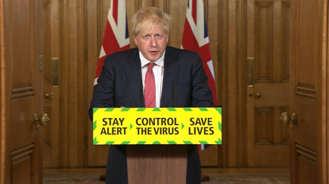 Boris Johnson updated the nation on the covid-19 response today