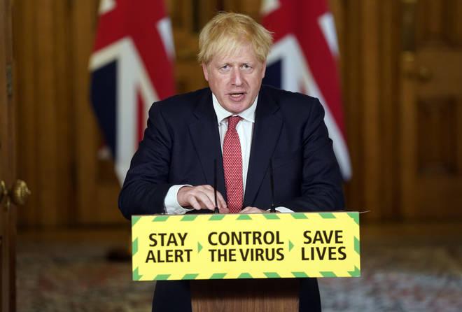 Boris Johnson made the announcement on Friday morning