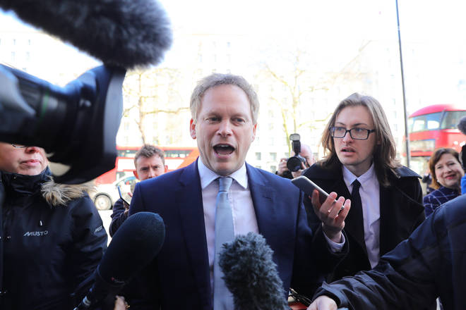 Grant Shapps insisted the public are following government advice