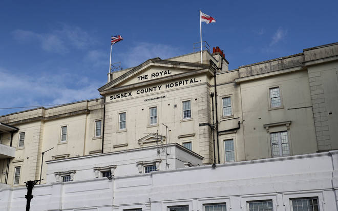 File photo: The Royal Sussex County Hospital in Brighton