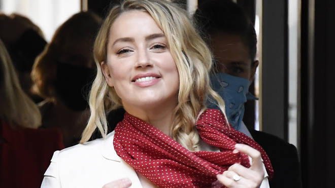 Amber Heard began her evidence today