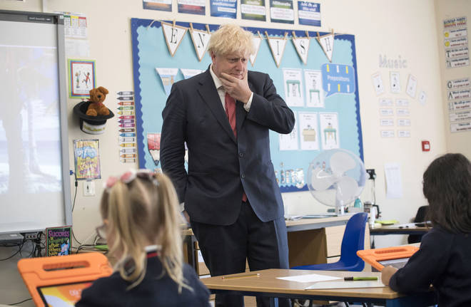 The Prime Minister Boris Johnson says a positive development but a vaccine may not be found