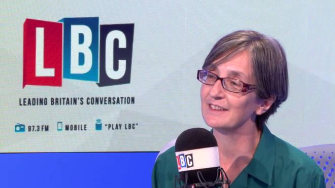 Helen Pankhurst on LBC