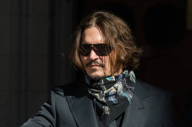 Johnny Depp has now finished his evidence