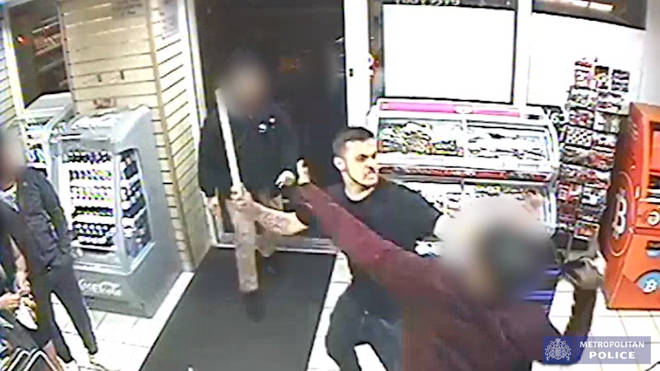 Police released CCTV of the attack on Grays Inn Road