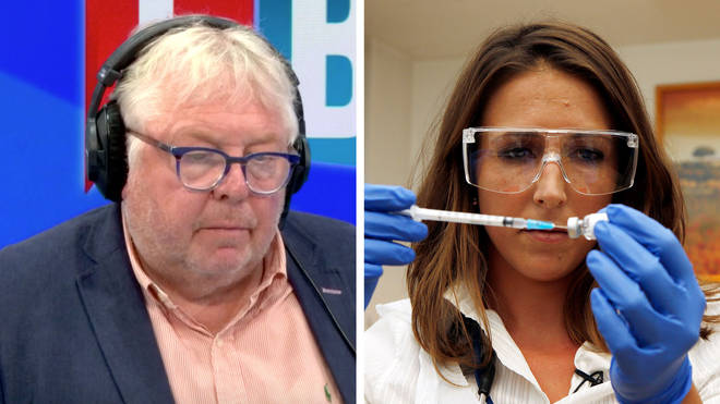 Nick Ferrari heard about the real timescale of the Oxford vaccine
