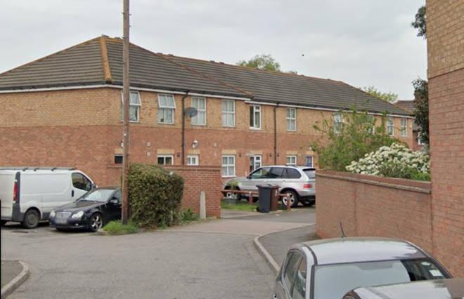 Bragg Close in Dagenham, where the incident occured