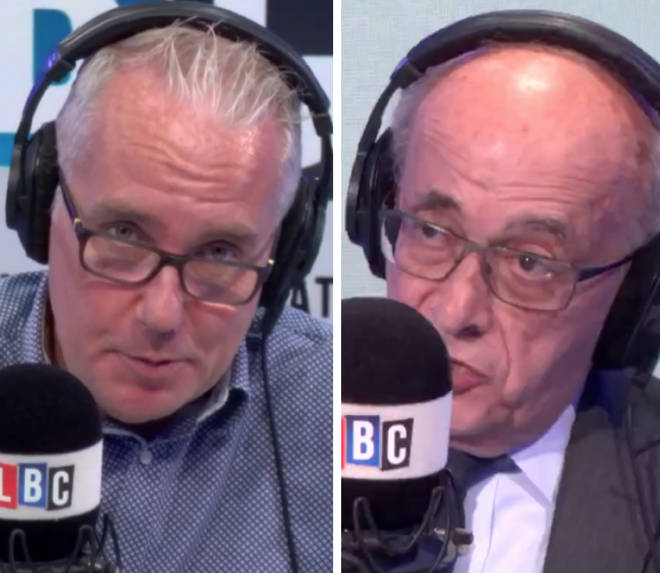 Lord Kerr joined Eddie Mair on Wednesday afternoon