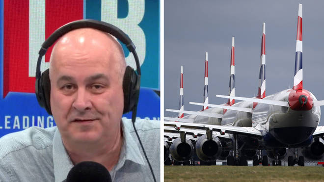 Iain Dale had strong words for British Airways bosses