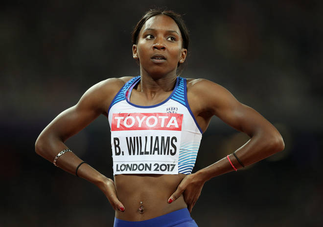 Bianca Williams was involved in an altercation with police officers when her car was pulled over