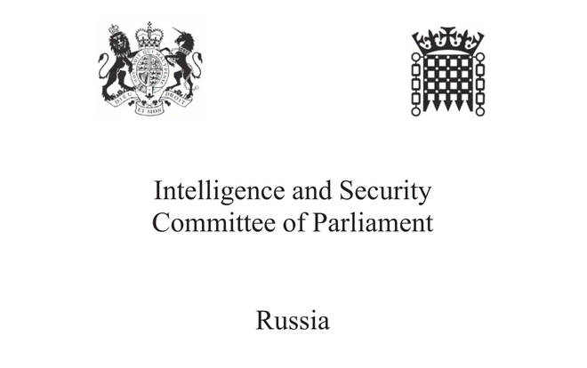 The long-awaited report into Russia's meddling in UK affairs was released on Tuesday