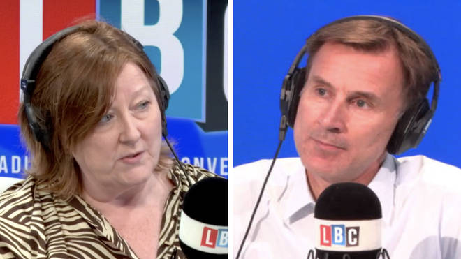 Mr Hunt told LBC that the UK was over-prepared for flu and under-prepared for SARS