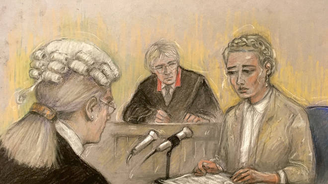 Ms Heard was in court for the second day of giving evidence in the libel case