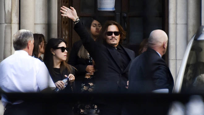 "Johnny Depp is taking action after The Sun called him a ""wife-beater"""