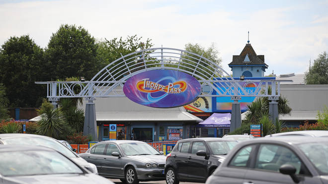 A man has been charged with a stabbing at Thorpe Park
