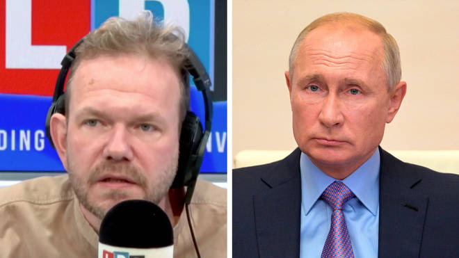 James O'Brien explained why Vladimir Putin wants to interfere in British politics