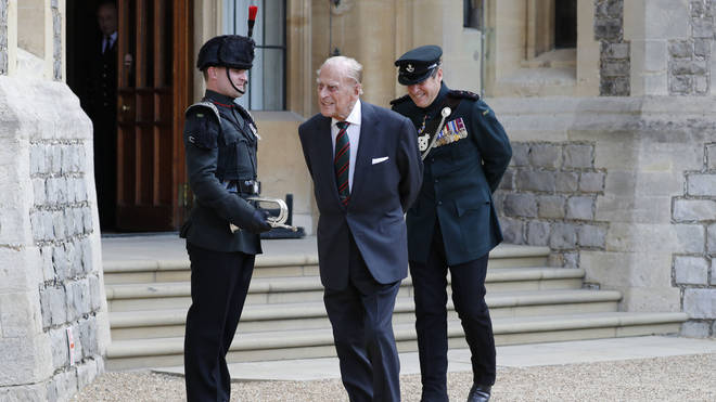 The duke retired from public duties in 2017