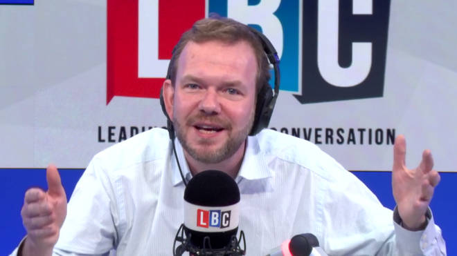 James O'Brien had a sudden realisation in the studio