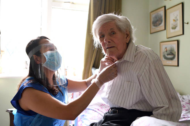 Care home visits will start to resume