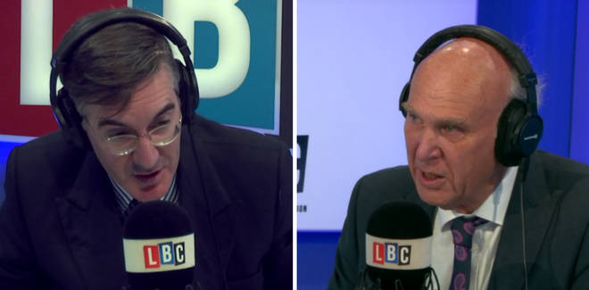 Jacob Rees-Mogg Vince Cable