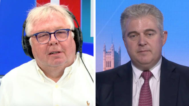 Nick Ferrari spoke to Brandon Lewis about the new facemask rule