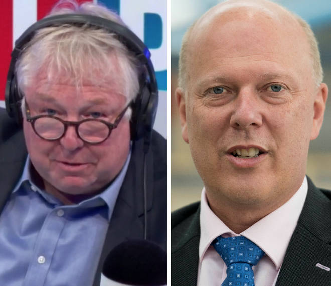 Nick Ferrari grilled Chris Grayling on Thursday morning