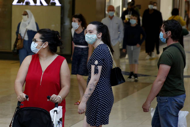 The rules come into effect on Friday with customers required to wear a mask unless they are exempt