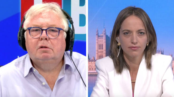 Nick Ferrari quizzed Helen Whately about the facemask rules