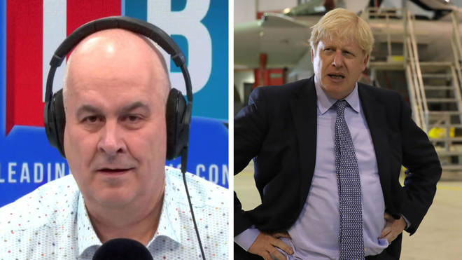 A caller couldn't back up any of her arguments about Boris Johnson