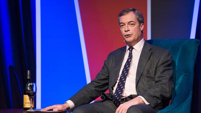Your chance to have dinner with Nigel Farage