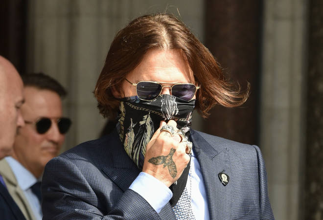 Johnny Depp has finished giving his evidence in the case