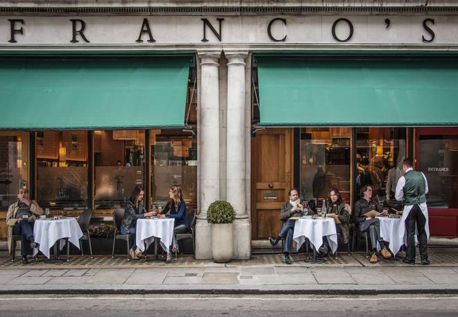 Franco's on Jermyn Street