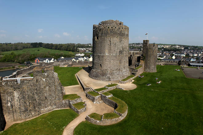 Pembroke Castle had to be evacuated following the discovery