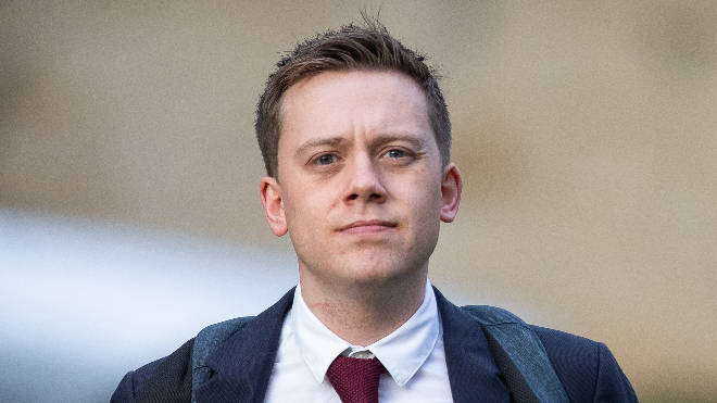 Owen Jones suffered cuts and swelling to his back and head following the attack