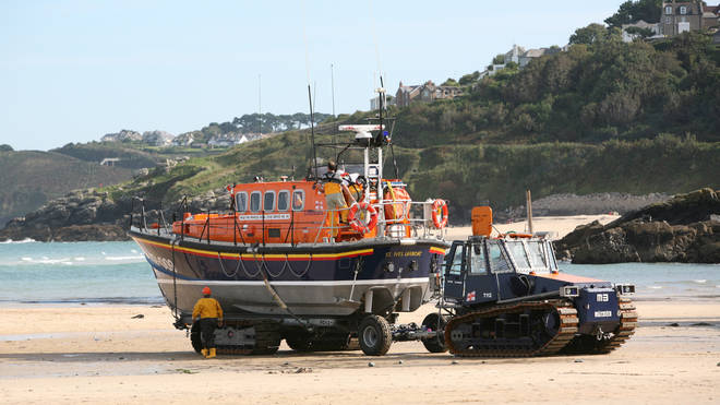 Crews at St Ives launch at a moment's notice to help those in trouble at sea