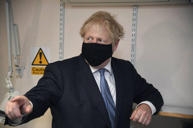 Boris Johnson is reopetedly looking to lose weight following his coronavirus battle