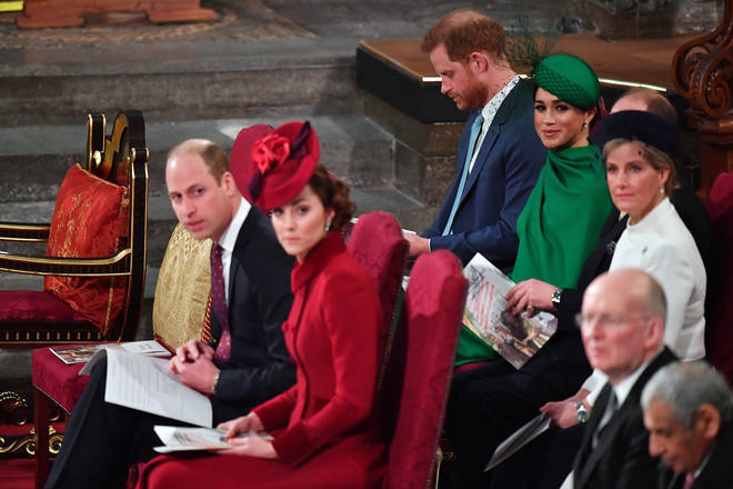 The book claims there was tension between the two royal couples