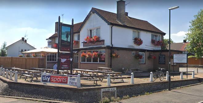The Downsman pub in Crawley has temporarily closed